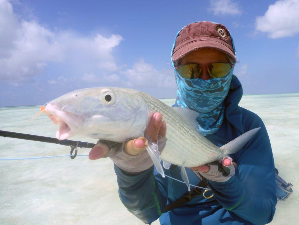 Thuy Tran fishing