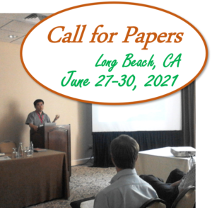 Call for Papers Long Beach, CA, June 27-30 2021