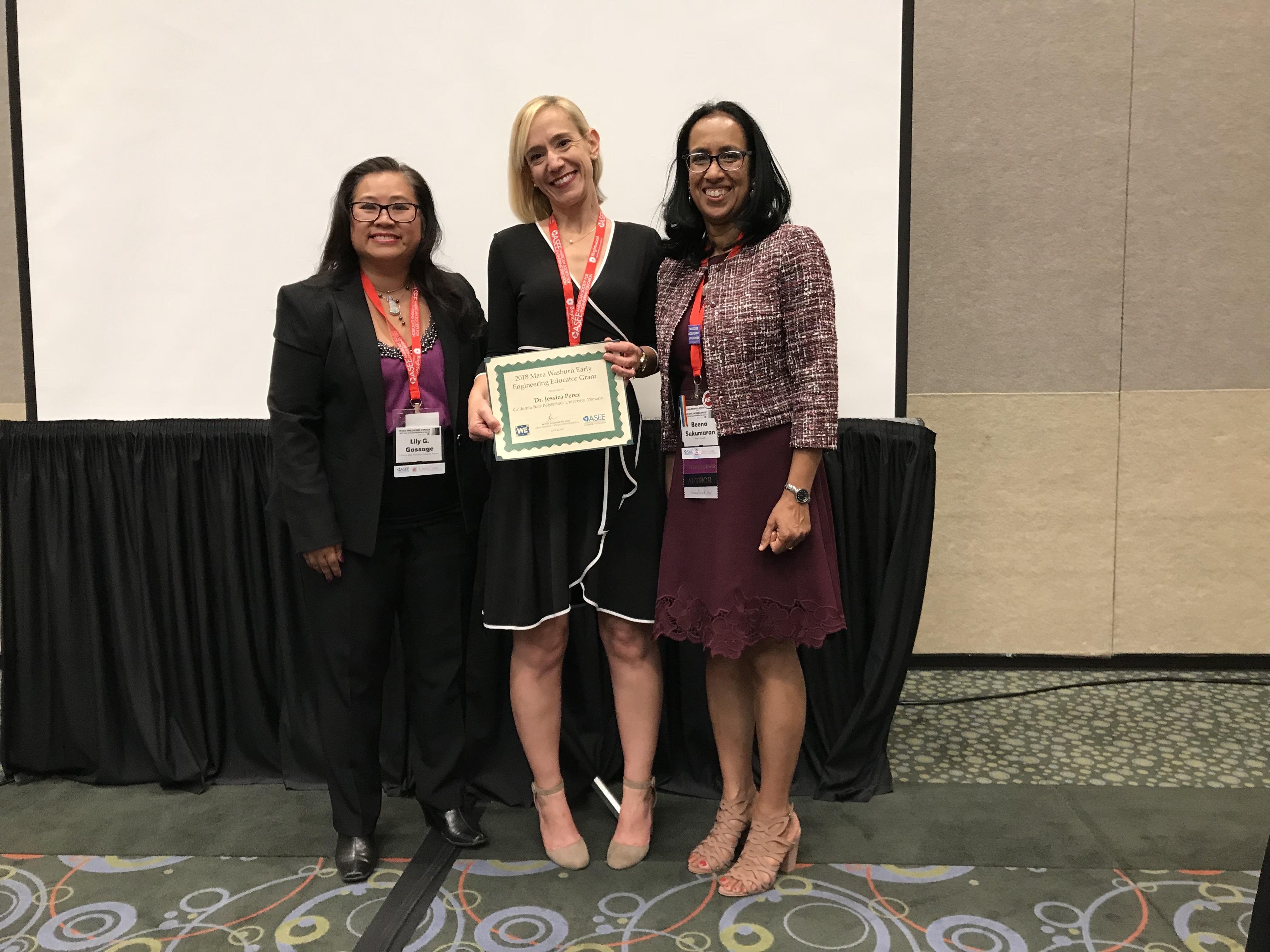 2018 Wasburg EEEG Award